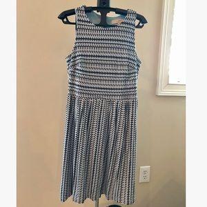 Blue LOFT Sleeveless Dress